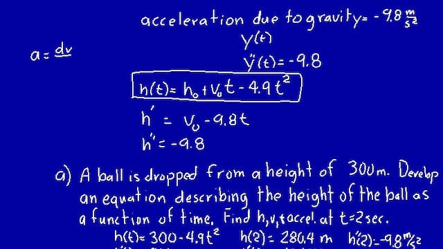 Lesson 74 DIVE Calculus, 1st Edition