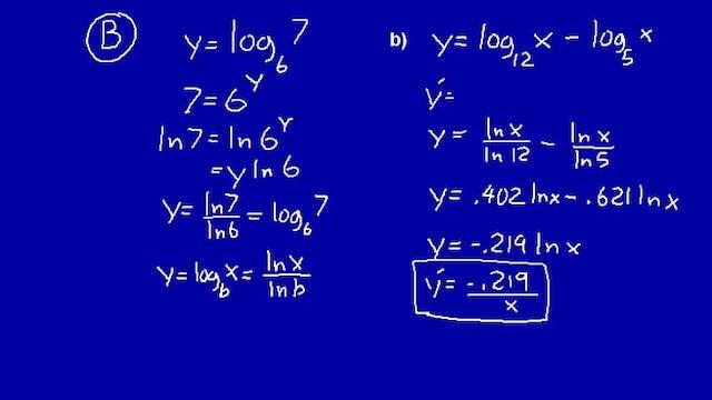 Lesson 72 DIVE Calculus, 2nd Edition