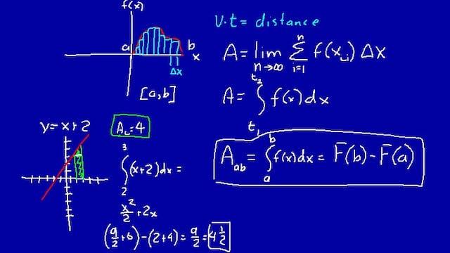 Lesson 47 DIVE Calculus, 2nd Edition