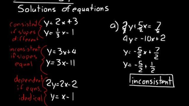 Lesson 84 DIVE Algebra 2, 3rd Edition