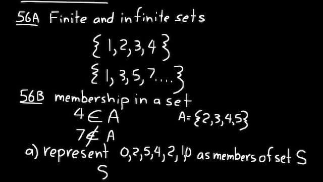 Lesson 56 DIVE Algebra 1, 3rd Edition
