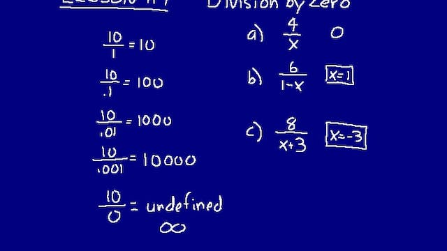 Lesson 119 DIVE Math 8/7 2nd Edition