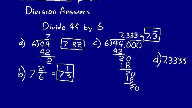 Lesson 49 DIVE Math 8/7 1st Edition