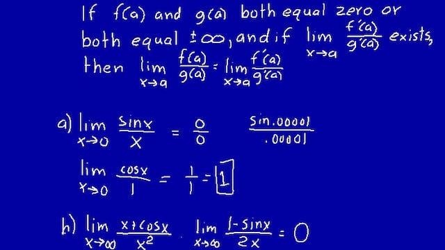 Lesson 79 DIVE Calculus, 2nd Edition