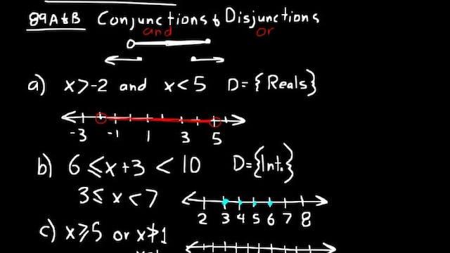 Lesson 89 DIVE Algebra 2, 3rd Edition