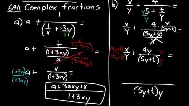 Lesson 64 DIVE Algebra 2, 3rd Edition