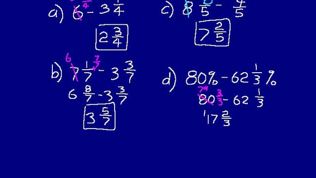 Lesson 23 DIVE Math 8/7 2nd Edition