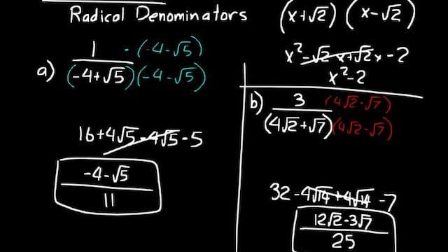 Lesson 67 DIVE Algebra 2, 3rd Edition
