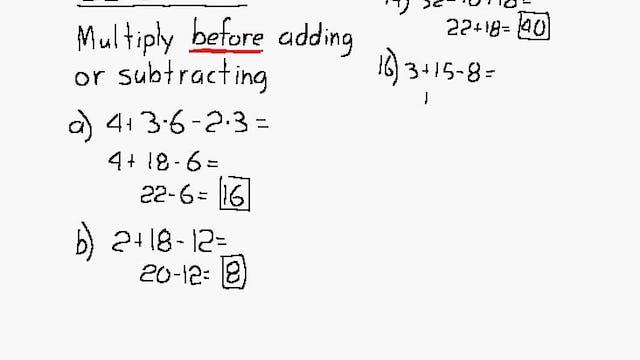 Lesson 33 DIVE Algebra 1/2, 2nd Edition