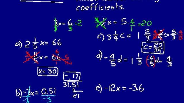 Lesson 90 DIVE Math 8/7 2nd Edition