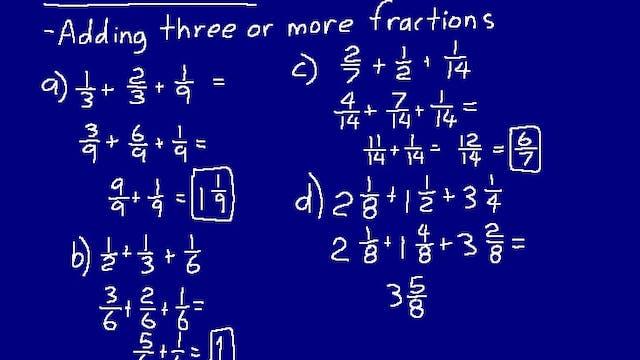 Lesson 59 DIVE 7/6, 3rd Edition