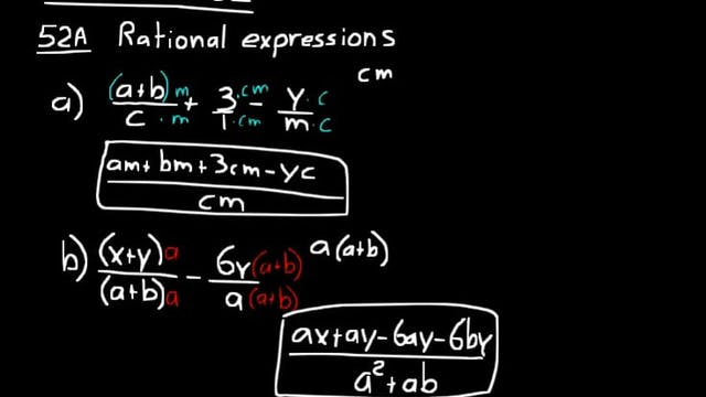 Lesson 52 DIVE Algebra 1, 3rd Edition
