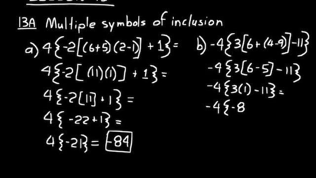 Lesson 13 DIVE Algebra 1, 3rd Edition