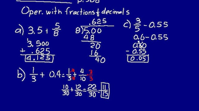 Lesson 87 DIVE Math 8/7 1st Edition