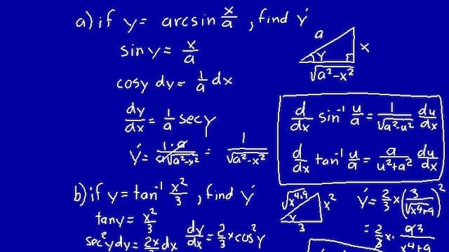 Lesson 73 DIVE Calculus, 1st Edition