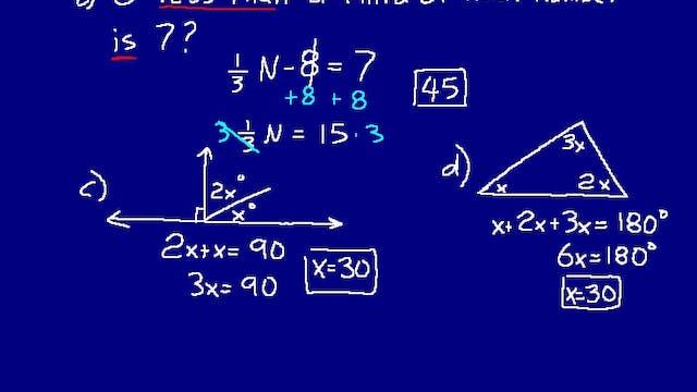 Lesson 101 DIVE Math 8/7 2nd Edition