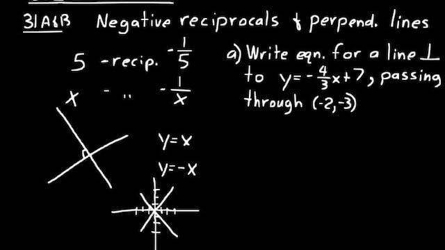 Lesson 31 DIVE Algebra 2, 3rd Edition