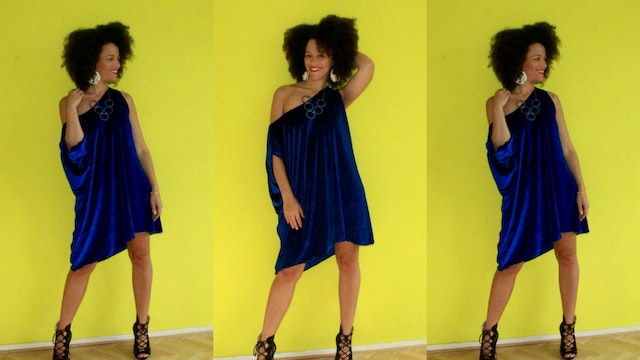 15min DIY DRESS - Easy & No Sewing Pattern Needed