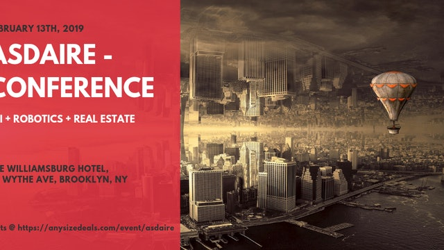 ASDAiRE - AI + Robotics + Real Estate