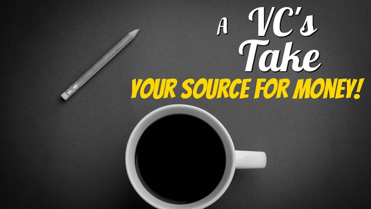 A VC's Take - Your Source for VC and Angel Investing Money.