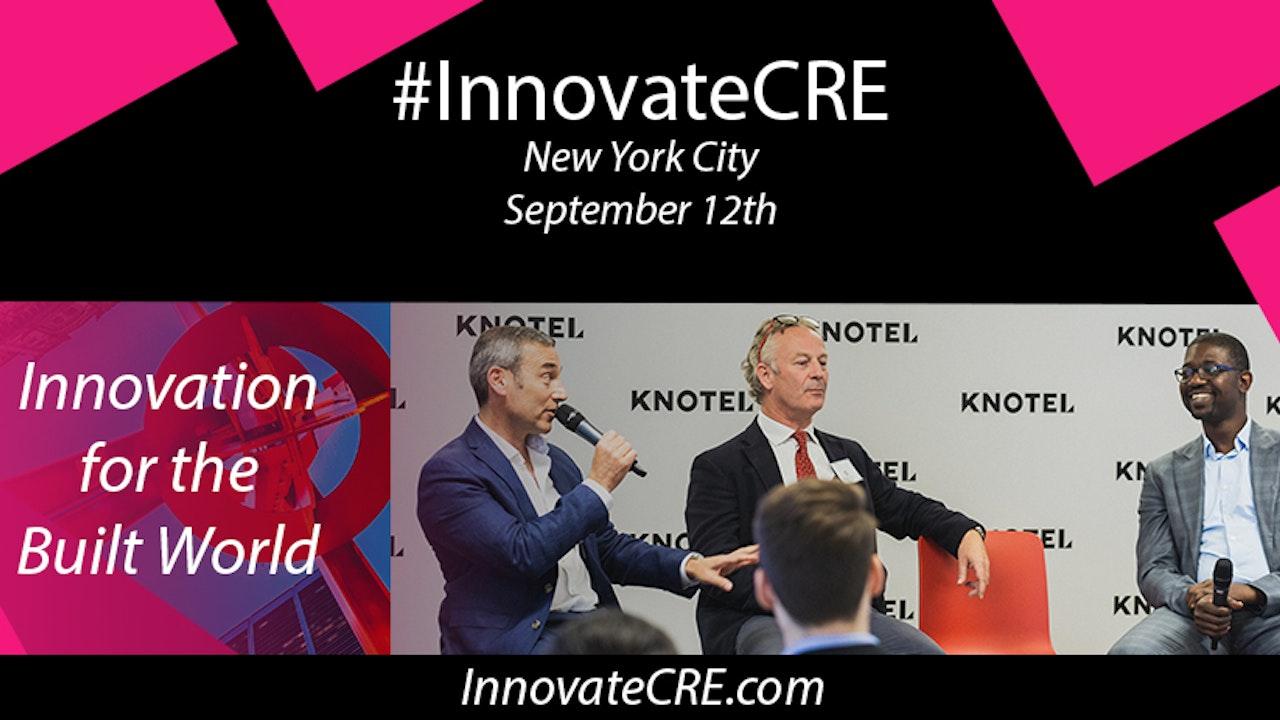 #InnovateCRE 2018