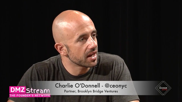 Charlie O'Donnell, Partner, Brooklyn Bridge Ventures - Cocky Founders