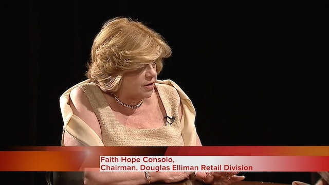 Faith Hope Consolo, Chairman of Douglas Elliman Retail Division discusses retail trends and millennials.