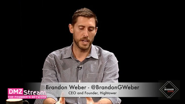Brandon Weber, Founder of Hightower - How it got started