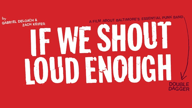 If We Shout Loud Enough