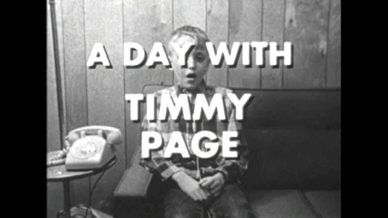 A Day with Filmmaker Timmy Page
