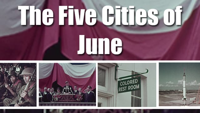 The Five Cities of June