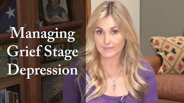 Managing Grief Stage Depression