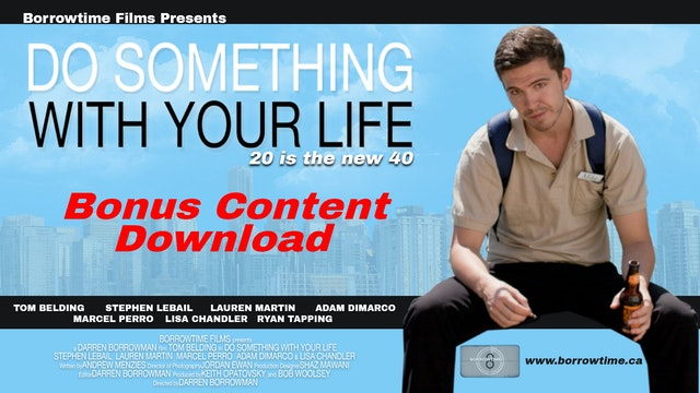 Do Something: The Bonus Features