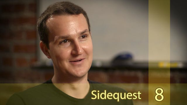 "Sidequest 8 // Oliver Franzke - ""I Would Have Absolutely Laughed"""