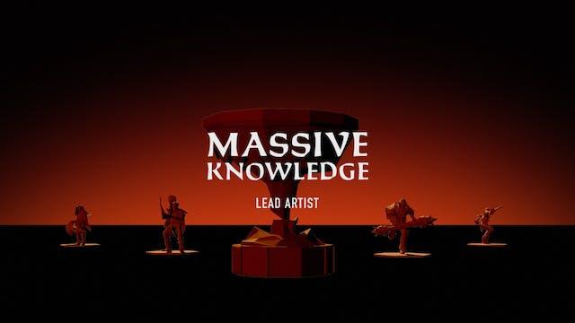 MASSIVE KNOWLEDGE // Lead Artist Geoff Soulis