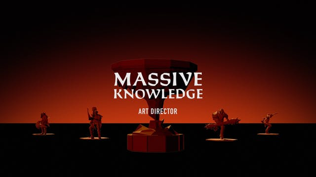 MASSIVE KNOWLEDGE // Art Director Mark Hamer and Concept Artist Derek Brand
