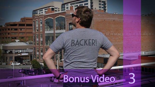 Bonus // Ep03-2: Greg Models Backer T-Shirt