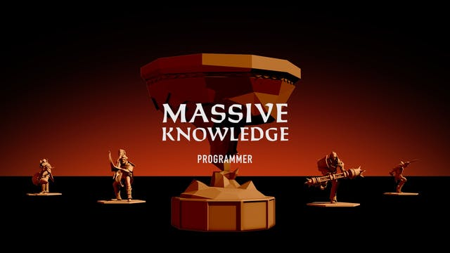 MASSIVE KNOWLEDGE // Programmer Dan McGarry