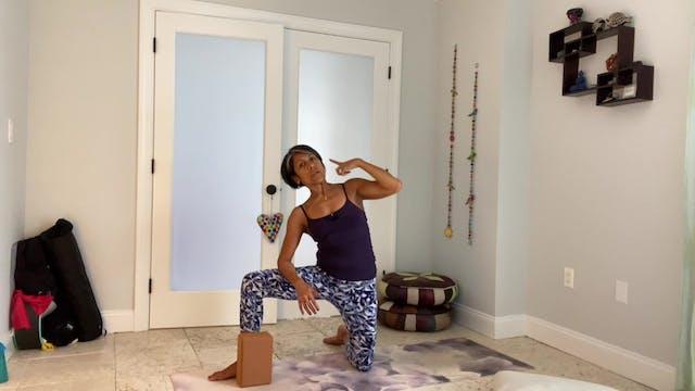 Prenatal S5 - Gentle Yoga & Props - 45 mins