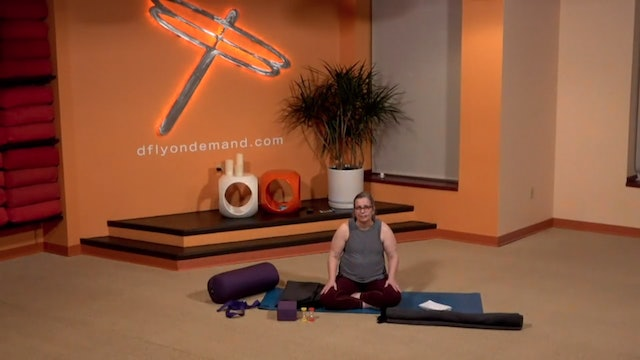 45 Minute Yin w/ Carrie (Livestream from 12/16/20) Starts @ the 14:58 min mark