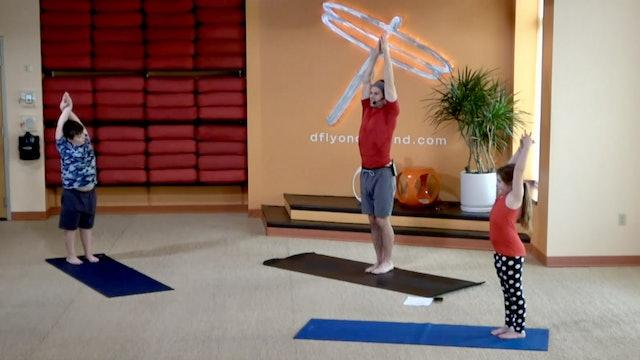 Family Flow Yoga w/Jesse (Livestream 01/01/21) Starts @ the 14:50 Min Mark