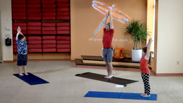 Family Flow Yoga w/Jesse (Livestream ...