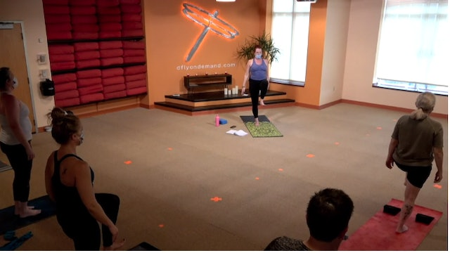 45 Minute Power Flow w/ Anna (Livestream from 8/18/21)