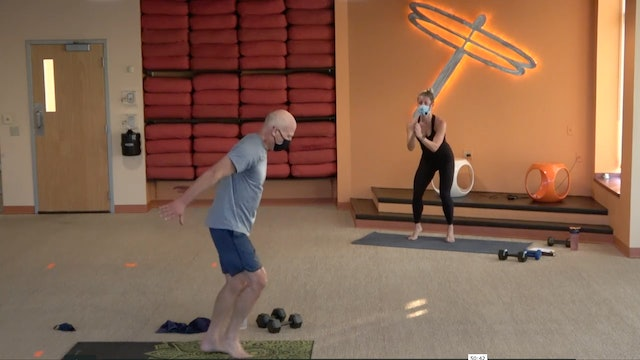 45 Minute Yoga Up w/ Lauren (Livestream from 9/21/20) Starts @ the 7 Minute Mark
