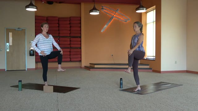 45 minute Slow Flow w/Kathryn, (8/07/...