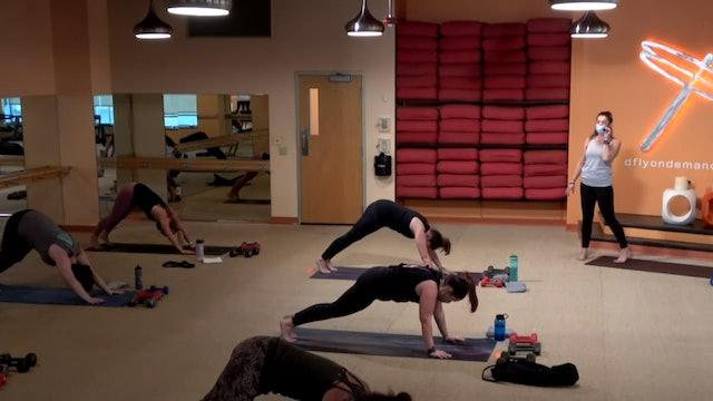 45 Min Yoga Up w/ Cassie (Livestream from 11/15/20) Starts @ the 10:50 min mark