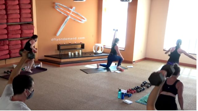 LIVE Yoga Up w/ Carrie, Sunday 10/31/...