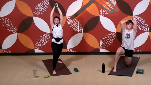 45 MInute Yoga Up® w/ Laura (Livestream 1/14/21) Starts @ 17:20 minute mark