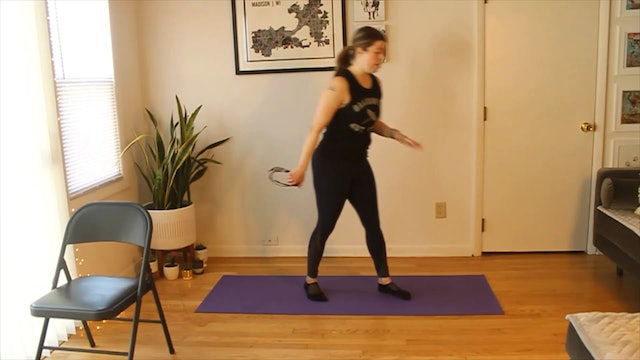 45 Minute BarreAmped Bootcamp Express with Carly