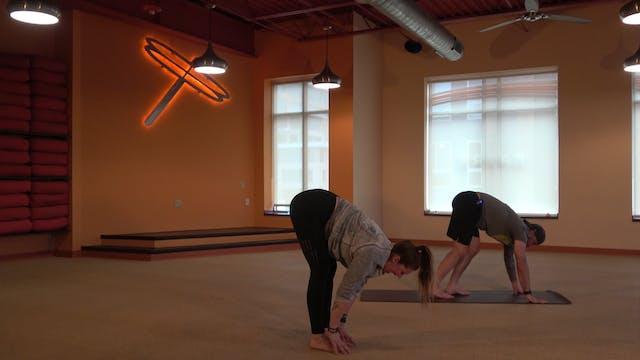 Yoga 101 Sun Salutations with Cassie